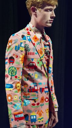 Walter Van Beirendonck spring/summer 2016 men's From the NYT