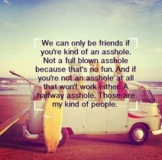 We can only be friends if...