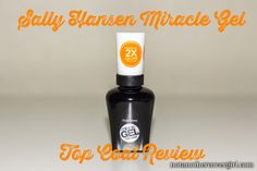 Sally Hansen Miracle Gel Top Coat Review
