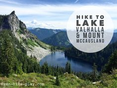 Hiking Lake Valhalla and Mt. McCausland with the Fam