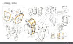 Sketchbook by Eric Sillies, via Behance.