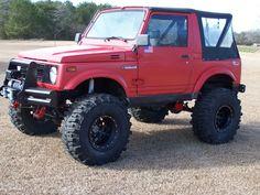 Off road rear bumpers with spare tire racks suzuki samurai - Google Search Suzuki Jimny, Mini Trucks, 4x4 Trucks, Chevy Colorado Z71, Samurai, Cooper Tires, 4x4 Off Road, Jeep 4x4, Toys For Boys