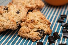 Black licorice and orange peel scones. A combination to die for... three things I love. Will have to try this.
