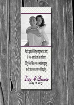 150 Wedding Bookmarks, Great Wedding Party Favors & Keepsake for ...
