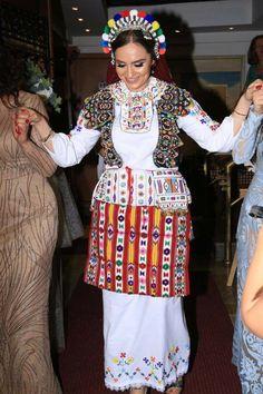 Albanian costume from Medgjeva