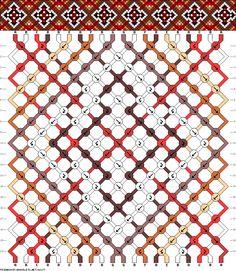 Muster # 68177, Streicher: 20 Zeilen: 20 Farben: 7
