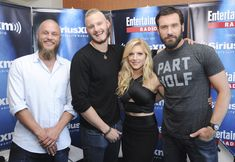 Travis, Alexander, Katheryn and Clive at San Diego Comic Con 2015 #Vikings