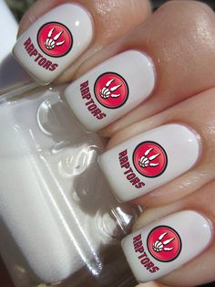 The San Francisco NFL Football nail decals will make you the best looking fan around! The nail decals come in a pack of 25 nail decals So Nails, Cute Nails, Pretty Nails, Hair And Nails, Basketball Nails, Football Nails, Nfl Football, 49ers Nails, Nail Decals
