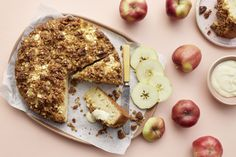 Omena-vaniljakakku Camembert Cheese, Dairy, Cookies, Baking, Desserts, Food, Kite, Crack Crackers, Tailgate Desserts