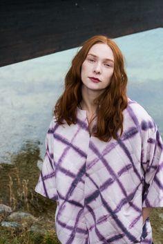 .Bei Anni und Sophie Photographer: Natalie Isser Model: Kira März Hair & Make-up: Sabrina Reuschl  Shibori