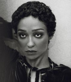 Photography: Norman Jean Roy. Styled by: Tracy Taylor. Hair: Lacy Redway. Makeup: Maud Laceppe.Set Design: Two Hawks Young. Actress:Ruth Negga.