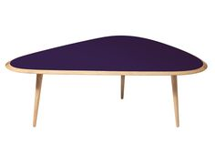 Table basse small Purple berry by RED EDITION via Goodmoods