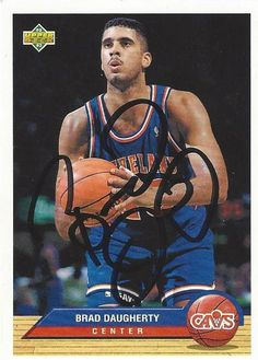 Brad Daugherty AUTOGRAPHED Basketball by FloridaFindersSports, $5.00