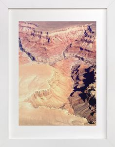 Ombre Canyon by Haley Warner at minted.com