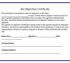 Application For No Objection Certificate For Job Enchanting Payment Receipt Template  Printableform  Pinterest  Receipt .