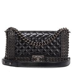 #Chanel Chained Medium Boy #Bag