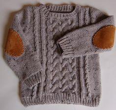 toddler's aran sweater