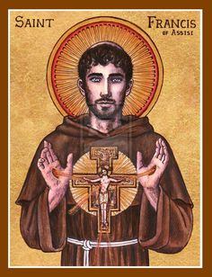 St. Francis of Assisi icon by Theophilia.deviantart.com on @DeviantArt