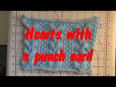 Punch Card Hearts - YouTube
