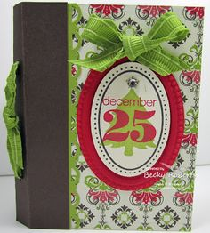 Mini Pocket Book Christmas - bjl