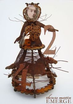 theresa mARTin EMERGE Santos cage doll project