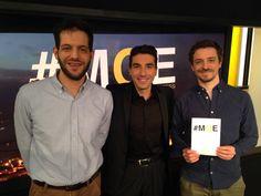 Avec Karim Kattan et Aymeric Cattenoz.