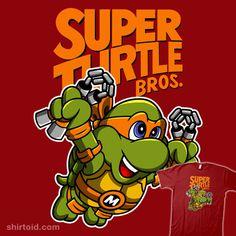 Super Turtle Bros Michelangelo