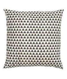 Mønstret pudebetræk