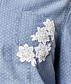 Receitas Círculo - Camisa Jeans Customizada