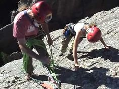 Rock Climbing with Sylvan Rocks Climbing School