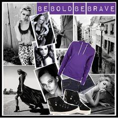 """be purple"" by jeniaa ❤ liked on Polyvore"
