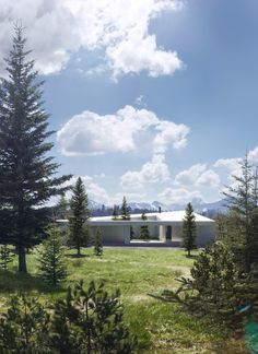 Saunders Architecture Design a Private Residence to be located in Banff, Canada