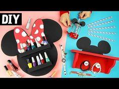 DIYs Mickey e Minnie Necessaire, Máscara e Almofada | Ideias para Viagem - YouTube