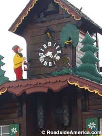 World's largest cuckoo clock in Sugarcreek, Ohio