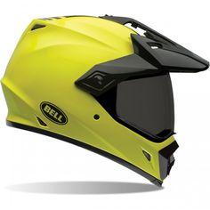 Hi Viz Bell MX-9 Adventure Helmet available at Motochanic.com
