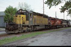 RailPictures.Net Photo: CNW 6882 Chicago & North Western Railroad EMD SD40-2 at Oshkosh, Wisconsin by Pete Greischar