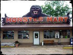 fouke arkansas | Monster Mart storefront in Fouke, Arkansas.