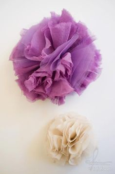 Tulle Puff Hair Accessory