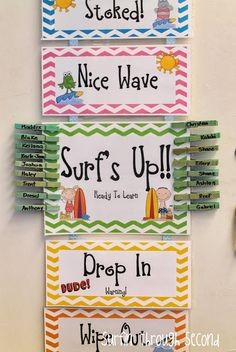 Surfin' Through Second: Classroom Reveal and Linky