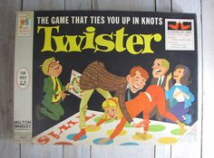 Visit Don's Game Closet for 1966 Twister game by Milton Bradley. We have of vintage board games and rules. 1960s Toys, Retro Toys, Vintage Toys, Vintage Stuff, 1970s, Retro Games, Vintage Gypsy, Classic Board Games, Vintage Board Games