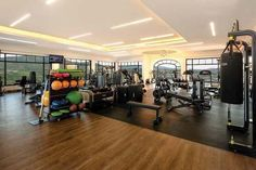 This gym will keep you on your toes while vacationing at Vista Encantada Spa Resort & Residences in Cabo San Lucas, Mexico! Cabo San Lucas, Resort Spa, Mexico, Gym, Vacation, Luxury, Beautiful, Work Out, Holidays Music