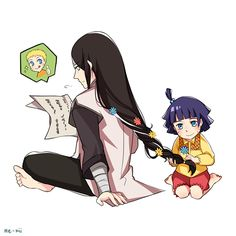 Neji would have made a cute uncle x3