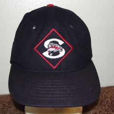 864a3d2d437 Seattle Steelheads Negro League Rare Ebbets Field Flannel Wool Fitted Hat 7  1 2