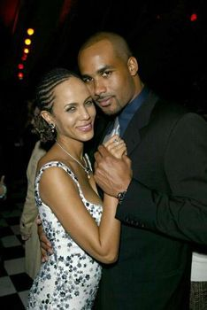 Finally, I Found You Boris Kodjoe and Nicole Ari Parker met on the set of their hit Showtime series Soul Food. He played her onscreen love interest and real life wound up imitating art. From then on, they were inseparable. Black Love, My Black Is Beautiful, Beautiful Couple, Nicole Ari Parker, Black Celebrities, Celebs, Boris Kodjoe, Ebony Love, Interracial Couples