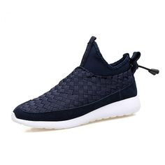 38.40$  Watch here - http://ali412.shopchina.info/1/go.php?t=32803476778 - 2017 Men's Fashion Casual Genuine Leather Shoes Lovers Hand Woven Lazy Shoes Lovers Brand High Quality Platform Shoes  #shopstyle
