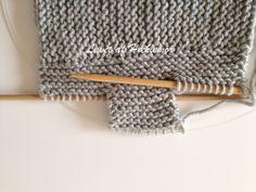 Hæklemors opskrift på retstrikkede babyfutter | Hæklemor Baby Leggings, Drops Design, Baby Knitting Patterns, Diy Baby, Ravelry, Diy And Crafts, Ribe, Threading, Loom Knit