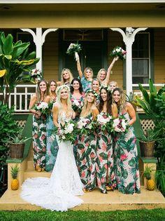 The Best Ideas for a Hawaiian Wedding Theme - Hochzeitskleid Ideen Mumu Wedding, Boho Wedding, Dream Wedding, Trendy Wedding, Fall Wedding, Rustic Wedding, Bohemian Weddings, 2017 Wedding, Wedding Prep