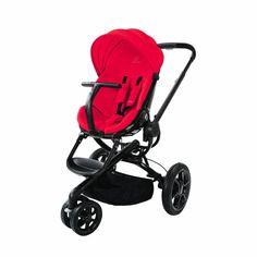 Quinny Moodd Stroller - Red Envy (Red with Black Frame)
