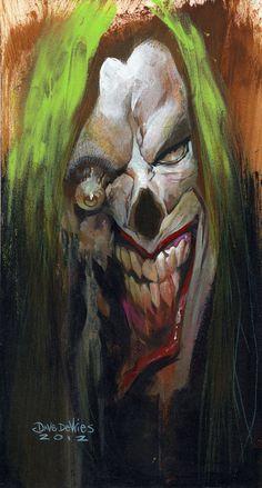 Zombie Joker by DaveDeVries on deviantART