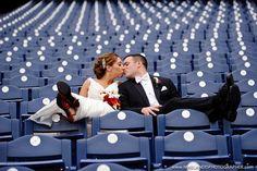 www.mikelandisblog.com.  great stadium seating wedding picture
